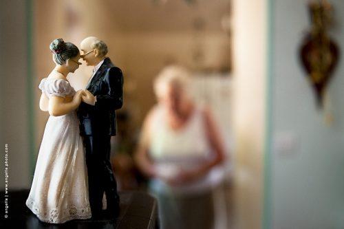 photo © angelle vieux mariés anniversaire de mariage famille temps qui passe histoire