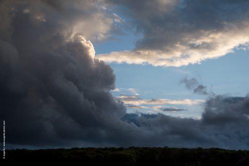 photo © angelle nuages foret orage ciel cieux mouvement