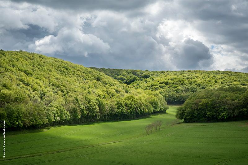 photo ©angelle vallon soleil nuage orage lumiere paysage force printemps ciel nuages